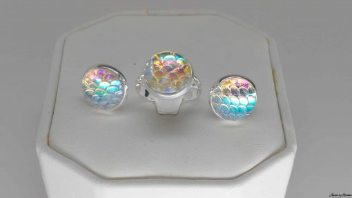 light rainbow mermaid set
